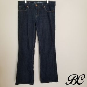Parasuco Jeans Dark Wash Straight Low Rise Sexy
